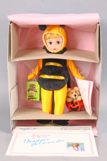 "Madam Alexander Halloween Bumble Bee Costume 8"" Doll, #323"