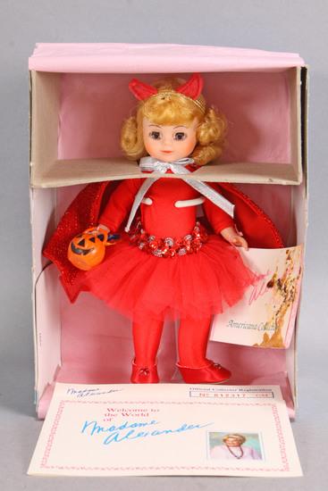 """Little Devil"" Madame Alexander Halloween Doll, 8"", #321"
