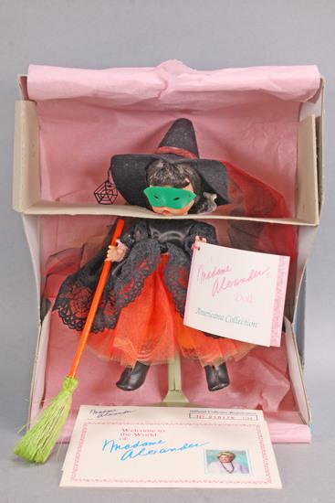 "Madame Alexander ""Witch"" Halloween Doll, 8"""