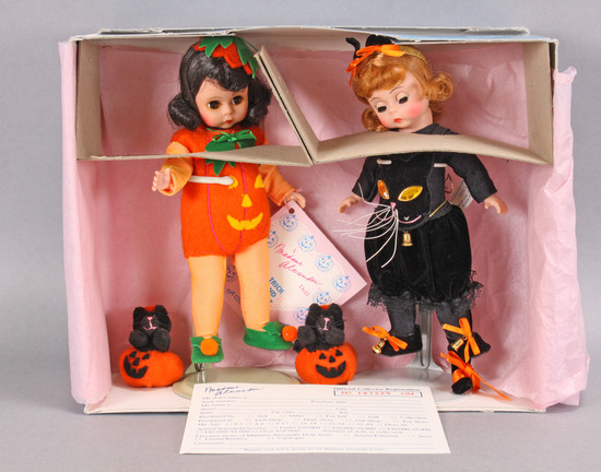 """Trick and Treat"" Madame Alexander Halloween Doll Set, #619"
