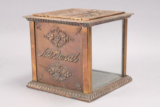 Antique National Cash Register Receipt Box