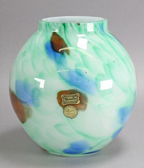 Art Glass Bowl - Egermann, Czech Republic