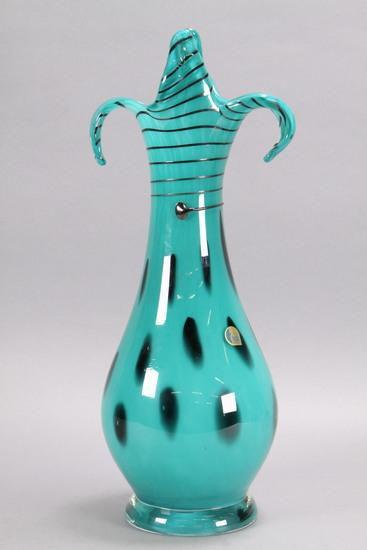Art Glass Vase - Glass Bor, Czech Republic