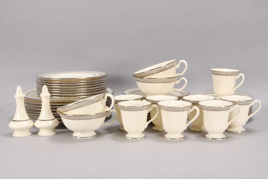 Lenox Deco Style Luncheon Tableware - Partial Service for 8