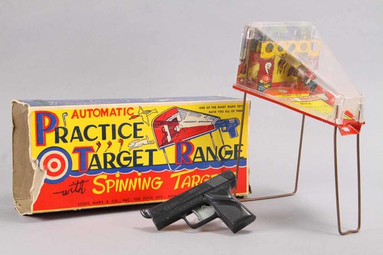 Marx Practice Target Range, Ca. 1950's