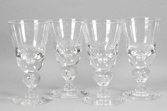 Steuben #7877 Crystal Water Goblets