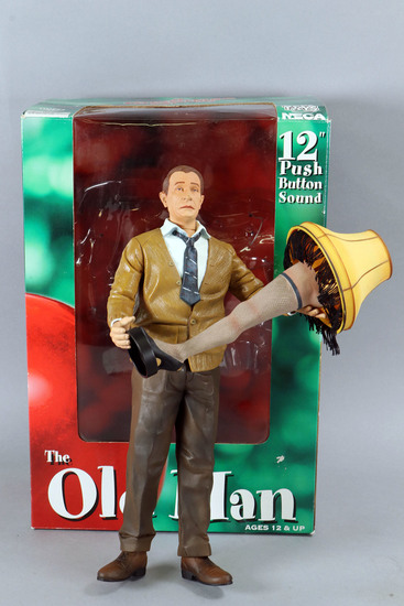 """The Old Man"" Figurine from Christmas Story"