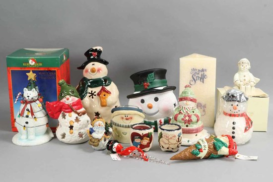 Lenox & Other Holiday Collectibles