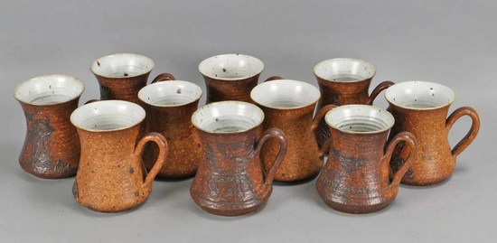 Artisan Holiday Mugs - Hand Made