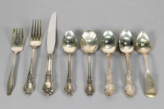 Sterling Silver Table Ware , 353.9 Grams
