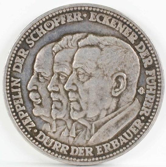 Graf Zeppelin Commemorative Silver Medal, 1929