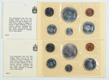 2-1964 Canadian Silver Proof Like Sets