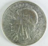 1932 Poland 10 Zlotych,