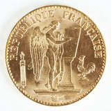 1887A 20 Francs GoldCoin; Guardian