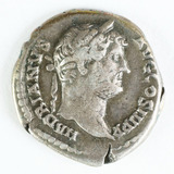 Imperial Rome AR Denarius, Hadrian 117-138 AD