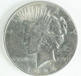 1926-S Peace Silver Dollar
