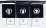 3 - 1999 Susan B Anthony Proof Dollar Coins