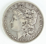 1880-P Morgan Silver Dollar