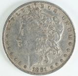 1881-P Morgan Silver Dollar