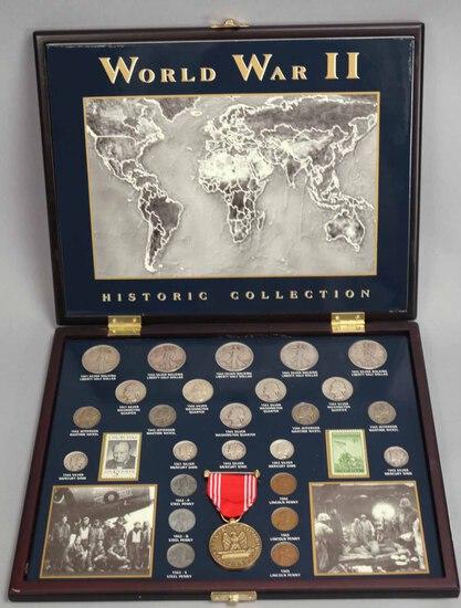 World War II Historic Coin Collection Set