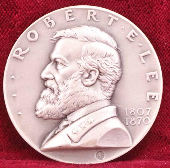 Robert E. Lee Silver Memorial Medal, 1 Troy Ounce