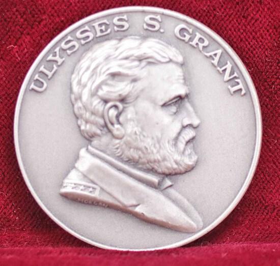 U.S. Grant Silver Memorial Medal, 28 Grams