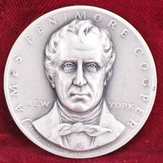 New York Statehood Art Medal, 25.6 Grams