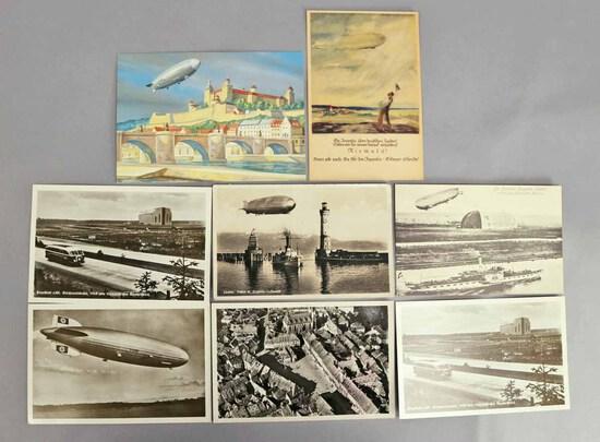Zeppelin Post Cards