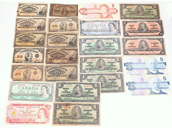 Misc Canadian Bank Notes