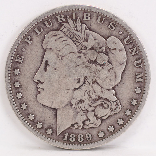 1889-O Morgan Silver Dollar