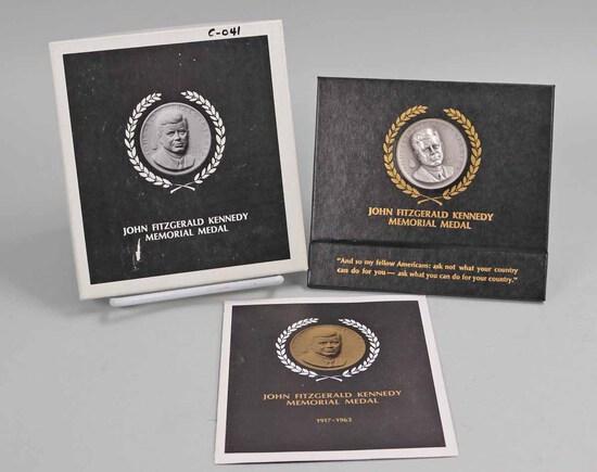 1964 John F. Kennedy Memorial Medal, 34.8 Grams