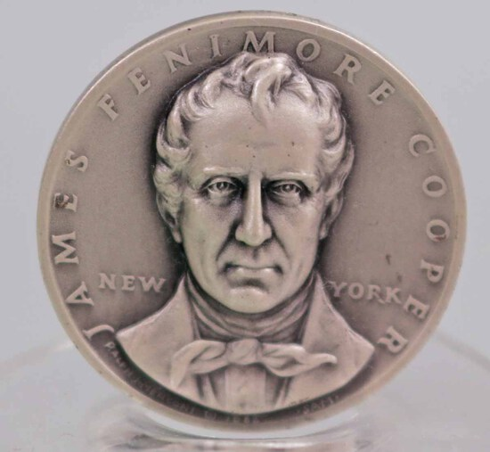 Silver State of New York Statehood Medal, 25.3 Grams
