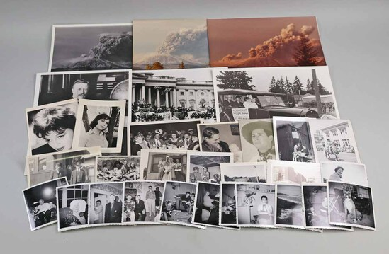 Vintage Photos & Snapshots: Mt. St. Helens & More
