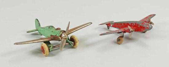 Vintage Hubley Toy Planes