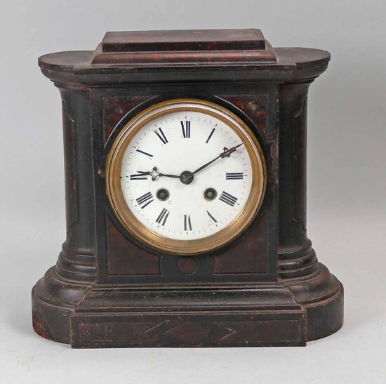 Antique Iron  Mantle Clock