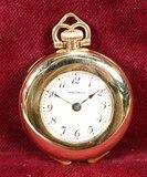 Ladies Small  Waltham Pocket Watch, Ca. 1914
