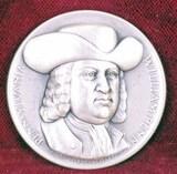 Silver Pennsylvania State Medal,  23.6 Grams
