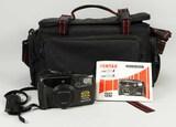 Pentax Zoom 280-P Camera w/Nice Camera Bag