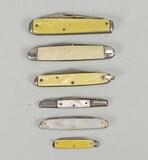 Vintage Pocket Knives - Mother of Pearl Cases