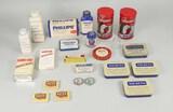Vintage Tins, Medicines: Baking Powder, Sucrets, Phillip's, Scotch