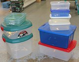 Assorted Totes and Containers