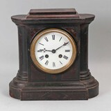Antique Iron  Mantle Clock