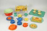 Vintage Tin Doll - Play Kitchen Wares