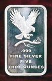 Five Ounces Silver Bullion
