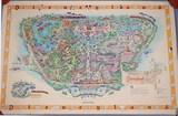 Disneyland Map, Ca. 1958