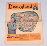 Los Angeles Times Disneyland Opening Pull Out Section, 07/15/1955