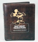 Walt Disney Productions Employee Benefit Booklet - Retirement Plan, Ca. 1989