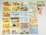 WWII Era GI Themed Postcards