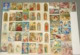 Antique Religious, Angel, Cherub, Madonna Themed Postcards