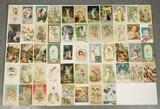 Antique Angel, Cherub Themed Postcards